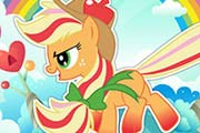 game Rainbow Power Applejack-2