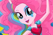 game Rainbow Rocks Pinkie Pie Dress Up