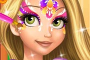 game Rapunzel Face Painting