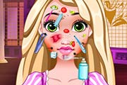 game Rapunzel Facial Skin Doctor