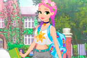 game Rapunzel Fashionista On The Go