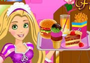 game Rapunzel Fun Cafe
