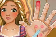Rapunzel Hand Doctor Game