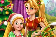 game Rapunzel Mommy Christmas Tree