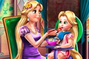 game Rapunzel Mommy Toddler Feed