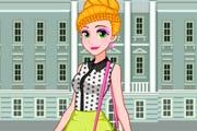 Rapunzel School Chic Makeover Game