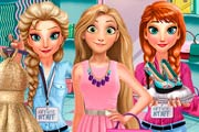 game Rapunzel Shopping Day