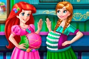 Royal Pregnant BFFs Game