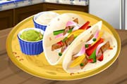 game Sara's Cooking Class: Chicken Fajitas