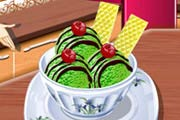 game Sara's Cooking Class: Green Tea Ice Cream