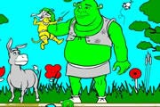 game Shrek Create Color