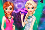 game Sisters Frozen Night Out