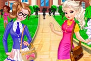 game Sisters Go To Arendelle College