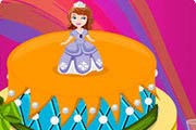 Sofia The First Cake Game