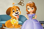 game Sofia The First Dog Care