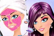 game Sunset Glam Beauty Makeover