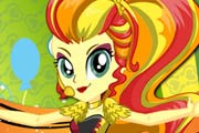 game Sunset Shimmer Rainbooms Style