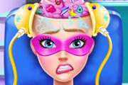 game Super Barbie Brain Doctor