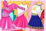 game Super Barbie Cheerleader