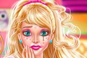 Super Barbie Make up Fiasco