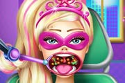 game Super Barbie Throat Doctor