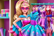 game Superhero Doll Closet