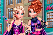 Superhero Spring Princess Dress up Game