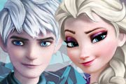 game Sweet Kissing Elsa And Jack Frost