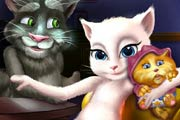 Talking Angela And The Newborn Baby