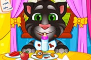 game Talking Angela And Tom Cat Babies Baby Game