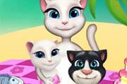 game Talking Angela Picnic Day