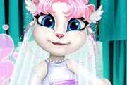 Talking Angela Wedding Dress