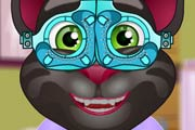 game Talking Tom At Eye Clinic