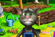 Talking Tom Gardener Game