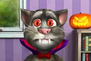game Talking Tom. Halloween Fun