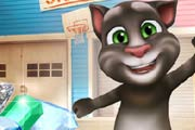 game Talking Tom Jewel Match