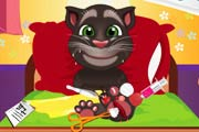 game Talking Tom. Sole Surgery