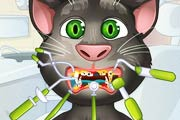 game Talking Tom. Tooth Problems