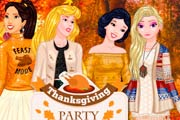 Thanksgiving Party for Princesses Game