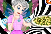 game Tinkerbell Black And White Pizza