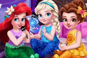 Toddler Princesses Slumber Party Game