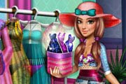 Tris Beachwear Dolly Dress Up Game