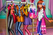 game Tris Winter Fashion Dolly Dress up