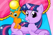 Twilight Sparkle Gave Birth Twins