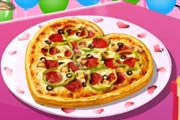 game Valentine Pizza: Sara's Cooking Class