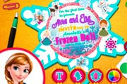 game Anna And Elsa Arendelle Ball