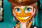 game Anna Halloween Face Art