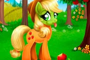 game Applejack Stomach Care
