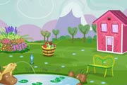 game Applejack`s Garden Decoration
