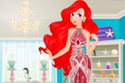 game Ariel Mermaid Dress Design